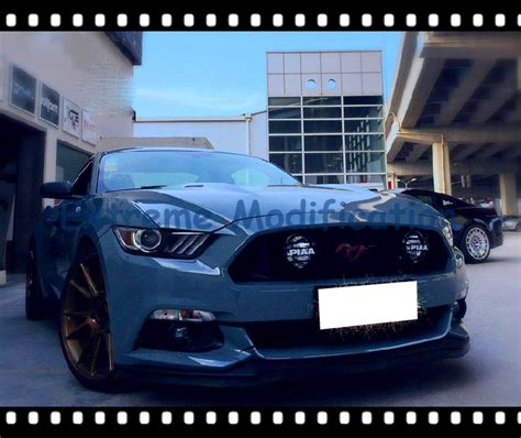 2015 mustang fog lights 2015 2016 mustang paa front grille fog lights pair in