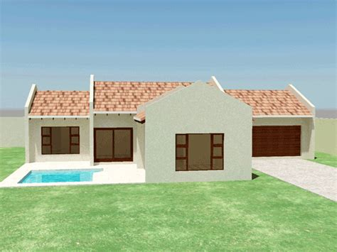 3 Bedroom Contemporary House Plans by Modern 3 Bedroom House Plans South Africa House Style