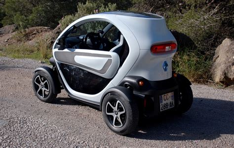 renault mini car renault twizy electric minicar drive report