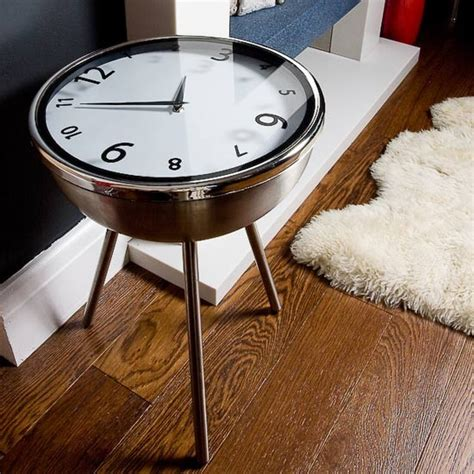 Clock Table by Retro Clock Table From Ic Innovations