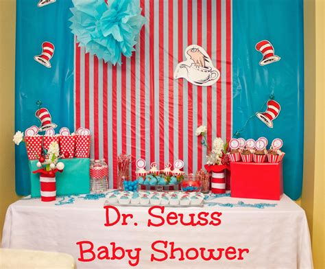Dr Seuss Baby Shower Ideas by Baby Shower Ideas For Decorations Dr Seuss Theme Elitflat