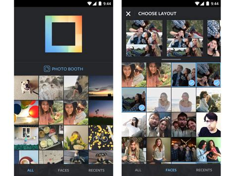 layout instagram play store instagram lance layout le collage carr 233 est enfin