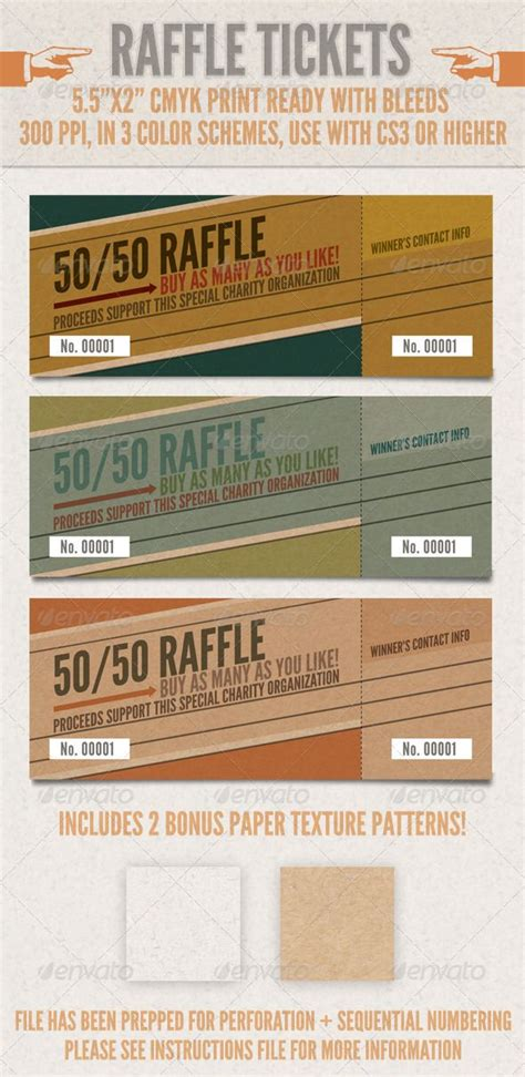 85 best raffle ticket templates ideas images on