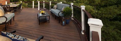 Trex Patio by Decking Railings Lumber