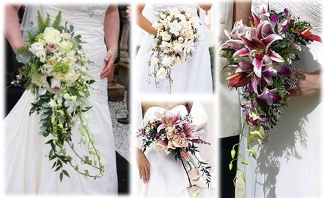 Wedding Bouquet Flowers Types by Cascade Flower Bouquet Http Refreshrose