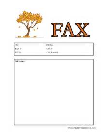Fall Cover Sheet Fax Cover Sheet at FreeFaxCoverSheets.net