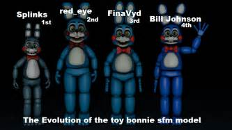 The evolution of the toy bonnie sfm model image jaygaming21 indie
