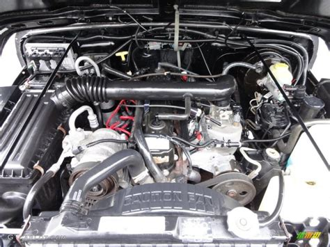 Jeep 4 0 Motor 1999 Jeep Wrangler Sport 4x4 4 0 Liter Ohv 12 Valve Inline