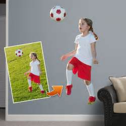 Big Head Wall Stickers custom die cut vinyl prints feature your photo or image with the