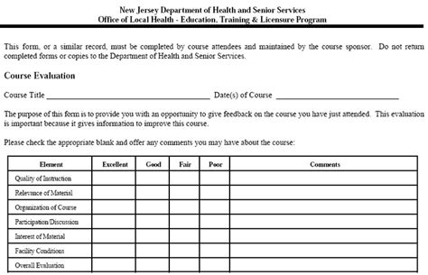 Evaluation Letter From The California Department Of Health 1000 Images About Health Evaluation Form On
