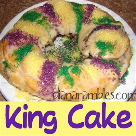 Easy and Best King Cake Recipe using Refrigerated Dough