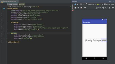 Layout Gravity | android developer beginner faq 2 gravity vs layout gravity