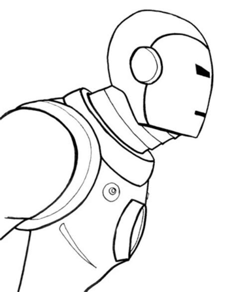 easy superhero coloring page easy iron man 3 coloring pages for kids avengers