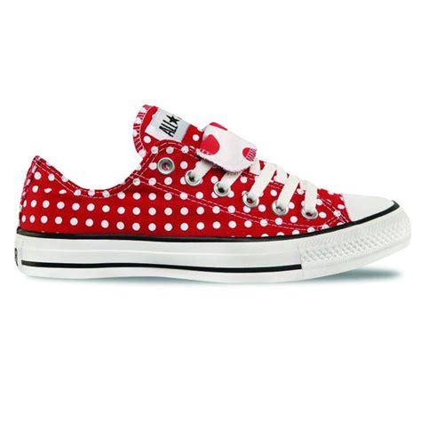 Shoe Polkadot Pink polka dot converse but my shoes