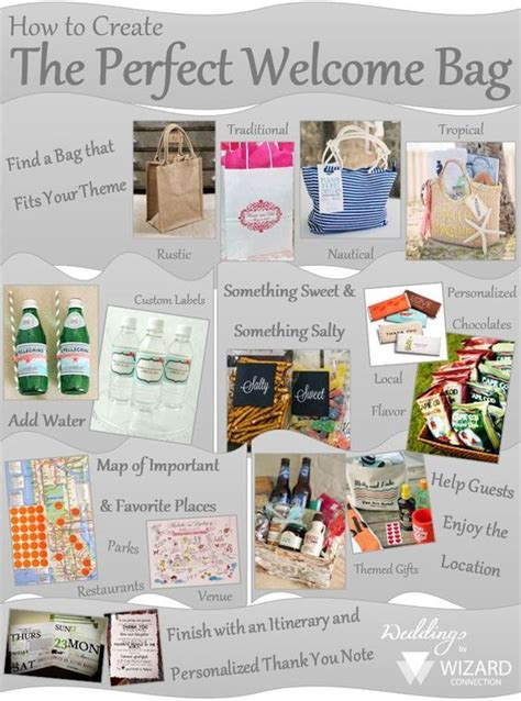 Wedding Brochure For Out Of Town Guests by 17 Best Images About Wedding Gift Bags On