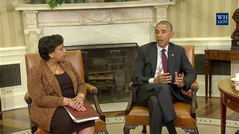 Meets With Lawyer president obama meets with attorney general lynch and fbi