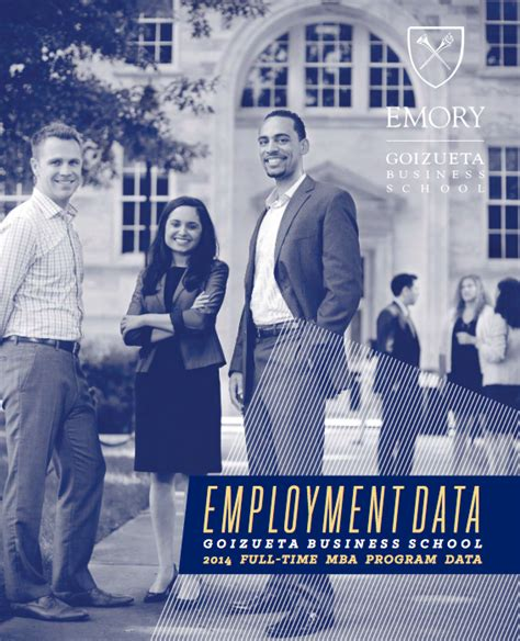 Emory Mba Career Report by Goizueta Mbas Continue To Succeed In Market