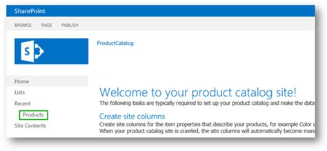 sharepoint 2013 product catalog site template stage 2 import list content into the product catalog site