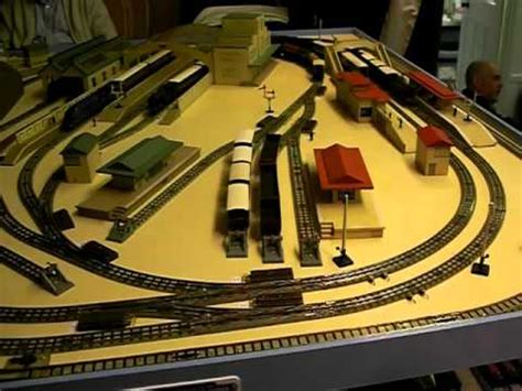 hornby layout youtube hornby dublo pre war portable layout youtube