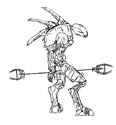 lego bionicle coloring pages to download and print for free