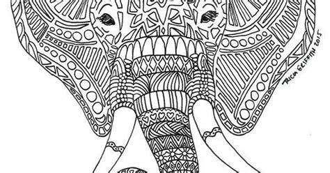 stress relief coloring pages elephant adult coloring pages elephant 2 2 adult coloring pages