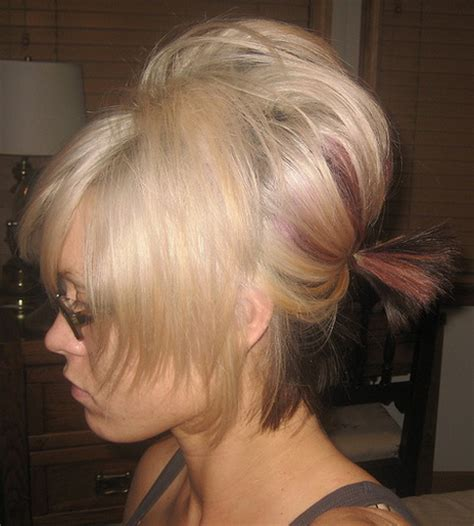 bump it hairstyles pictures bump hairstyles for short hair