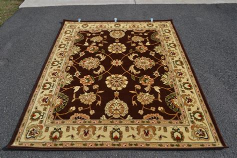 Green And Black Area Rugs by Burgundy Green Brown Ivory Area Rugs Carpet Black