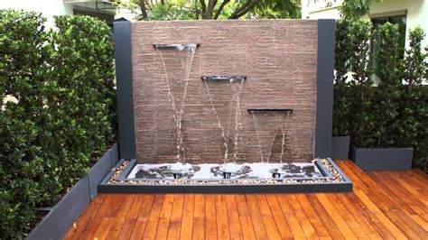 Spectacular Garden Water Wall Ideas Garden Lovers Club Backyard Feature Wall Ideas