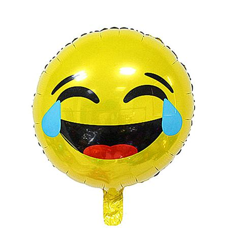 Diskon Balon Foil Emoji Emoticon New 18inch emoji foil balloon emoji smiley mylar balloons for wedding decorations emoticons