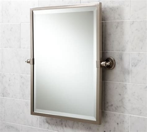 Pivoting Bathroom Mirror Pivot Bathroom Mirror Kensington Pivot Mirror Traditional Bathroom Mirrors By Pottery Barn