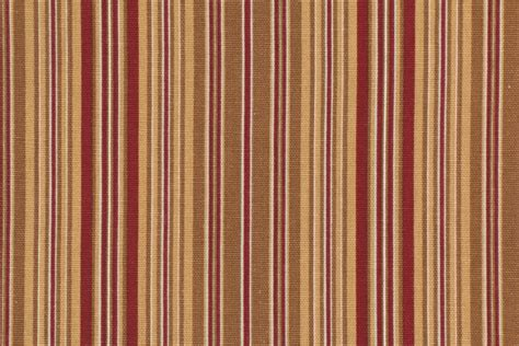 gold drapery fabric stripe printed cotton drapery fabric in gold wine