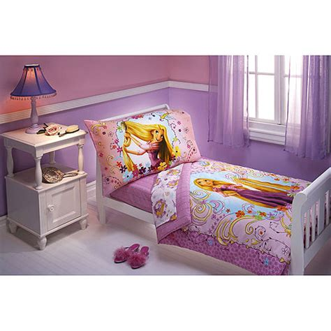 princess toddler bed set disney tangled toddler bedding set 4pc princess rapunzel