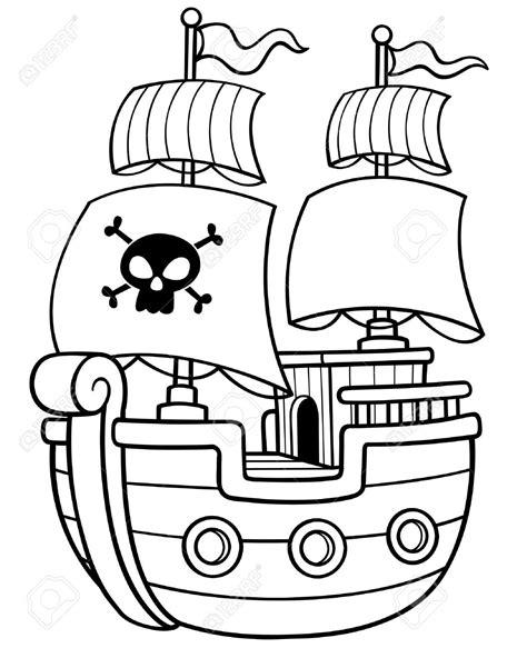 imágenes de un barco pirata pagina para colorear de barco pirata