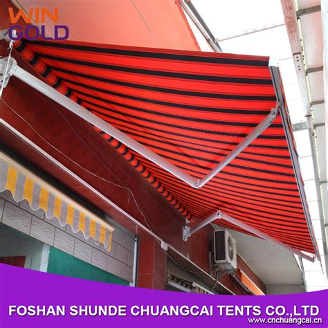 used aluminum awnings folding arm balcony awnings windproof used aluminum awnings for sale retractable