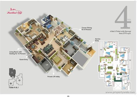 Fire Station Floor Plans by Amrapali Heart Beat City Sector 107 Noida Residential