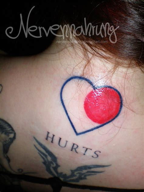 New Tattoo Hurts | new tattoo hitrecord and hurts by nervennahrung on deviantart