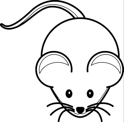Coloring Page Mouse by Mouse Coloring Page