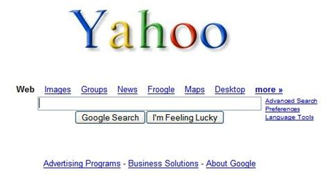 Search On Yahoo Users Microsoft Yahoo Search When It S Branded With A Logo Business