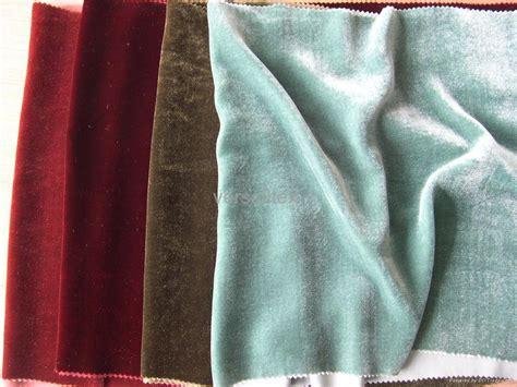 Silk Upholstery by Silk Velvet Fabric Ve01 China Manufacturer Knitting