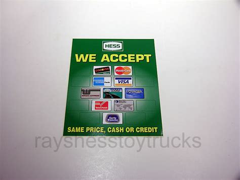we accept cards sticker template hess we accept credit cards sticker s hess