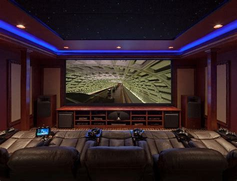 awesome media rooms awesome media room with 5 screens theater seating and