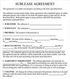 Sublease Agreement Template Word Office Sublease Agreement Template Best Letter Examples