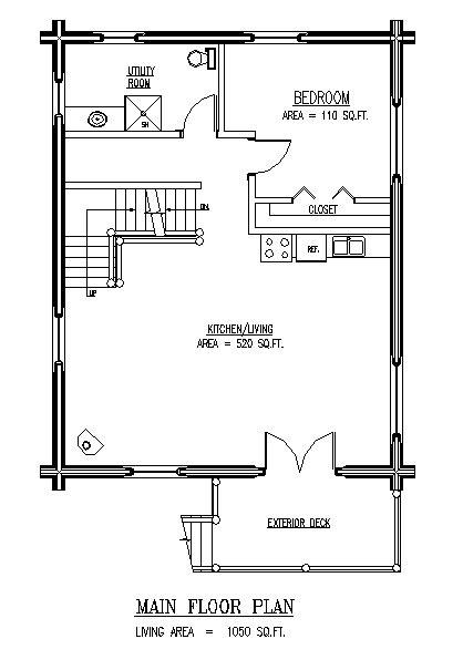 weekend cabin floor plans kiwi 3 main floor plan 1 or 2 bedrooms open loft area