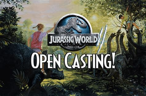 open casting film indonesia 2016 jurassic world 2 holding open casting call first