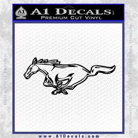 mustang stickers and decals ford mustang dh decal sticker 187 a1 decals