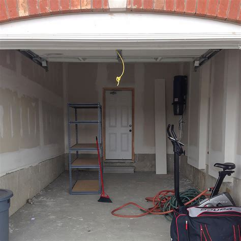 garage remodel to gym and living spaces ideas with white garage makeover ideas garage living