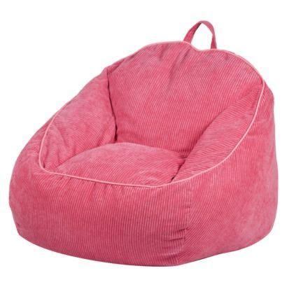 Circo Bean Bag Chair by Circo Bean Bag Chair Pink Corduroy