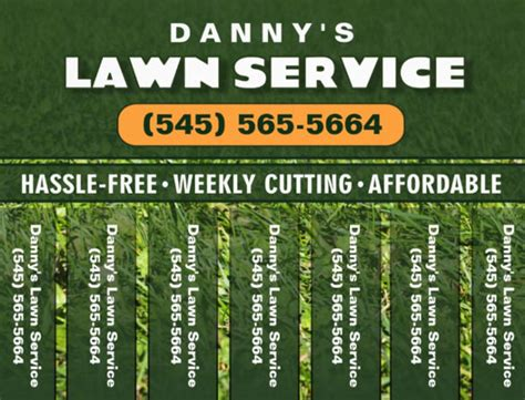 free printable lawncare card templates lawn care flyers 28 free psd ai vector eps format