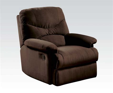 chocolate microfiber recliner arcadia chocolate microfiber recliner chair