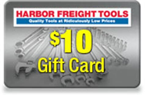 Harbor Freight Gift Cards - inside track club